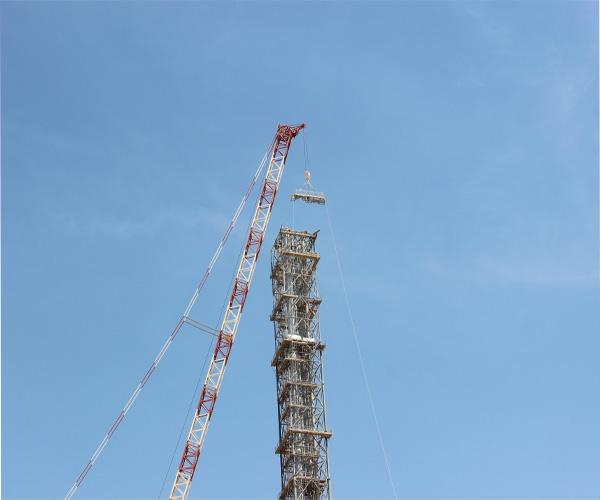 200 Metre High Flare Stack, Yanbu,